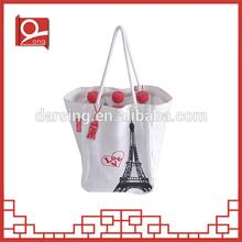 High quality eco-friendly organic handmade cotton bag
