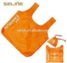 Fashion new design reusable cheap printed nylon shopping bags