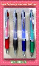 Hot selling promotion plastic ball pen 2014 new design