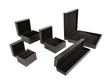 Wholesale Luxury Elegant Leatherette Paper Jewelry Box