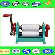 Beeswax foundation roller machine, beeswax embossing machine