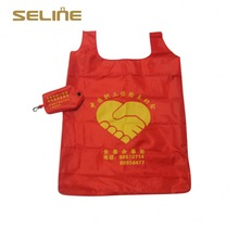 New recycle fashion design popular foldable shopping bag
