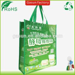 Gasun made laminated non woven bag/non woven shopping bag/non woven eco bag