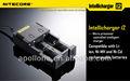 Nitecore i2 cargador Ni MH / Ni Cd / aa aaa Nitecore cargador Nitecore i2 cargador Intellichage Nitecore i2 cargador