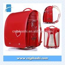 BL.RS.0015 - Ransel PU school bags Japan Randoseru protecton spine/embroidery school bag for girls 2015