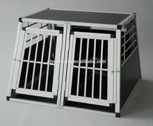 large aluminum folding pet cage China supplier