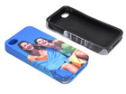 TPU Dual-Protective 3D Ploymer case for iphone4/4s / Silicone 3D polymer cell phone cases/ Sublimation blank phone cases
