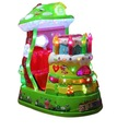 Nuova moneta- gestito cartone animato mp3 video gioco kiddie rides