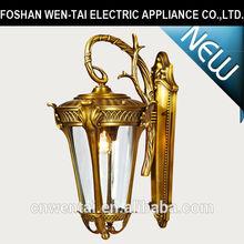 home decorative brass wall light/outdoor brass wall light/brass wall light