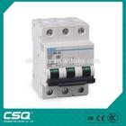 HYCB6-63 C65 3P Mini circuit breaker MCB