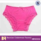 cotton comfortable lady brief bikini manufacturer