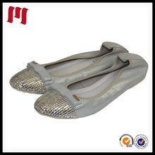 2014 High Quality Classic Design Rubber Women Genuine Leather Shoe