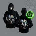100% lobo algodão camisolas 3d hoodies hoodies animal animal 3d hoodie