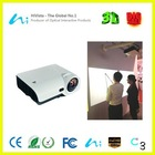 Portable Interactive Whiteboard 3000 lumens Cheap video 3d projector for school