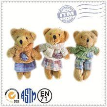 personalizado de pelúcia brinquedos fabricante atender en71 astm oem mini pelúcia ursos de pelúcia baratos