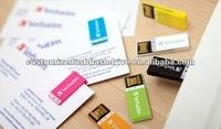 colorful plastic paper clip USB key