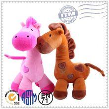 Plush horse/ custom stuffed animal toy/ custom pony horse plush toys