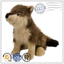 Super lovely stuffed animal toy plush big big wolf toys
