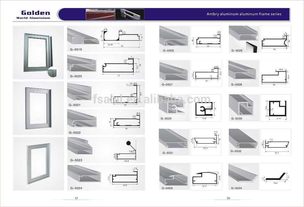 Aluminium Frame Cabinet Doors Cabinet Door Frame