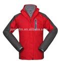 Chaqueta esquiar hombres resistente al agua transpirable chaqueta barata chaqueta lluvia