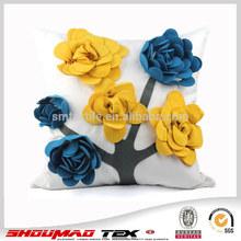 silk home decorative cushion