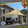 HDPE UV stablized car parking sun shade sail