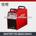 Automatico inverter ac dc saldatrice tig mastertig- 200ac/250ac