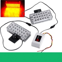 2x22 LED Strobe Light security car strobe light beacon emergency exit light