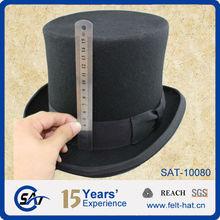 Victorian top hat, wool top hats for men
