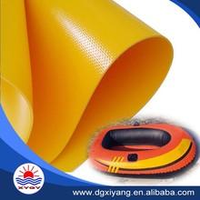 Inflatable boat tarpaulin pvc