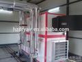 hangzhou de climatización industrial de aire unidad de tratamiento en los buenos precios con filtro de aire y la utilización de agua helada