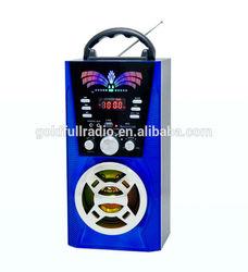 High Quality Digital Display Portable Mini USB SD Speaker fm Home Radio