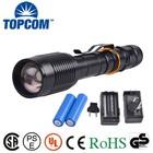New Arrival Aluminum Focus T6 LED Tactical Flashlight