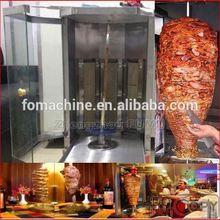 3 heating plate doner kebab meat