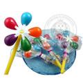 fantasia de giro windwill brinquedo doces pirulito doce