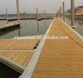 Barco de la marina de aluminio barco pontón flotante muelle/puente flotante para la venta