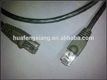 OEM 3ft gray UTP cat5e lan jump cable