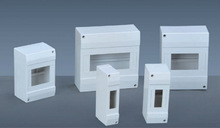 CE Surface electrical distribution box size