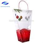 high quality top grade nice popular christmas plastic pp gift bag