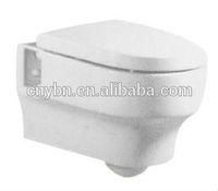 chaozhou Yibeini ceramic sanitary ware wall hung p trap toilet __bathroom toilets
