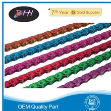 colored motorcycle chain sprocket price from BHI motorcycle parts colored motorcycle chain