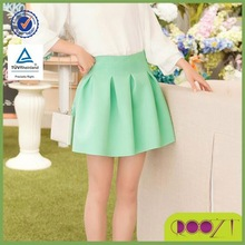 Candy color Wild bottoming short skirt mature women in skirts