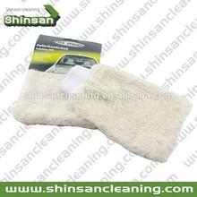 Soft car wash mitt cotton Car Cleaning Wash mitt