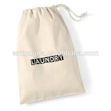 Custom Canvas Cotton Drawstring Beach Tote Bag