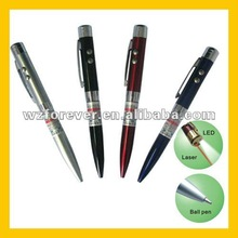 3 IN 1 LED Light With Red Beam Laser Pointer Pen