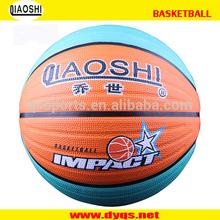 PVC rubber shiny new design basketball