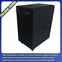 Laptop/Tablet Charging Cabinet /Furniture / Storage Cabinet/Cart / Charging Cabinet For Tablet With Caster