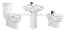 Chaozhou ceramic bathroom toilet set, ceramic toilet price