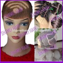 2015 New Design Silk Top Body Wave Virgin Peruvian Hair Lace Wig