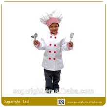 Party Halloween Kids Chef Costume